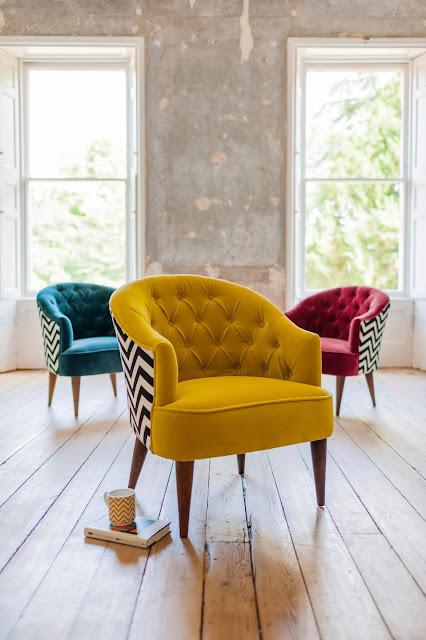 Velvet Jazz Tub Chairs