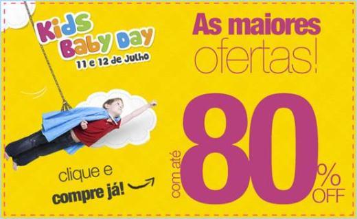 fe0b2600ec Bebê Store participa de Kids Baby Day com descontos de até 80 ...