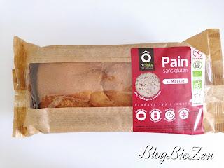 Pain sans gluten de Merlin - O Cérès