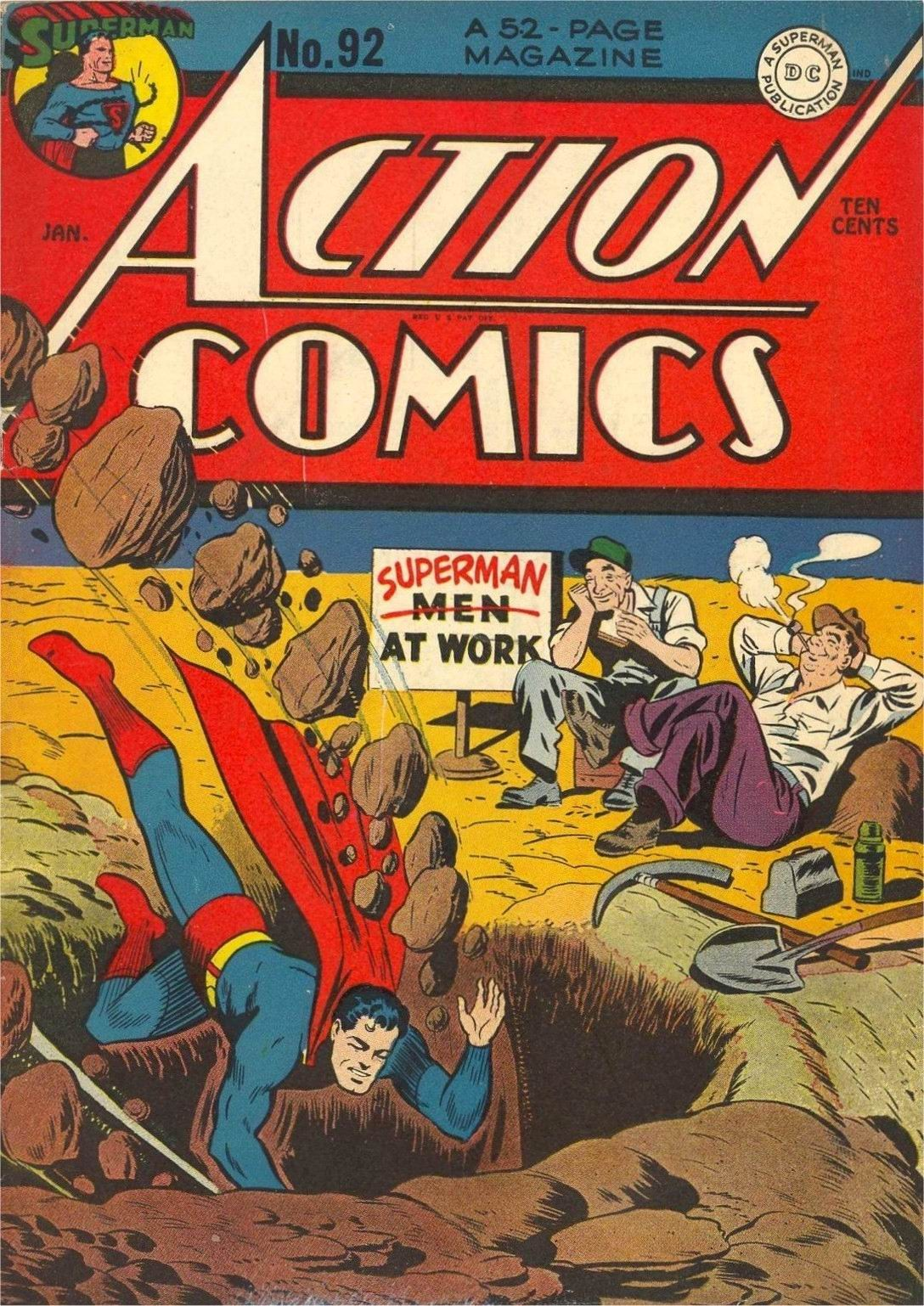 Action Comics (1938) 92 Page 1