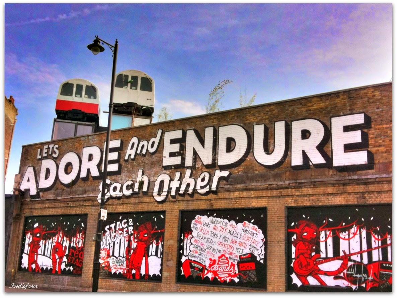 Foodie Force London Graffiti Art