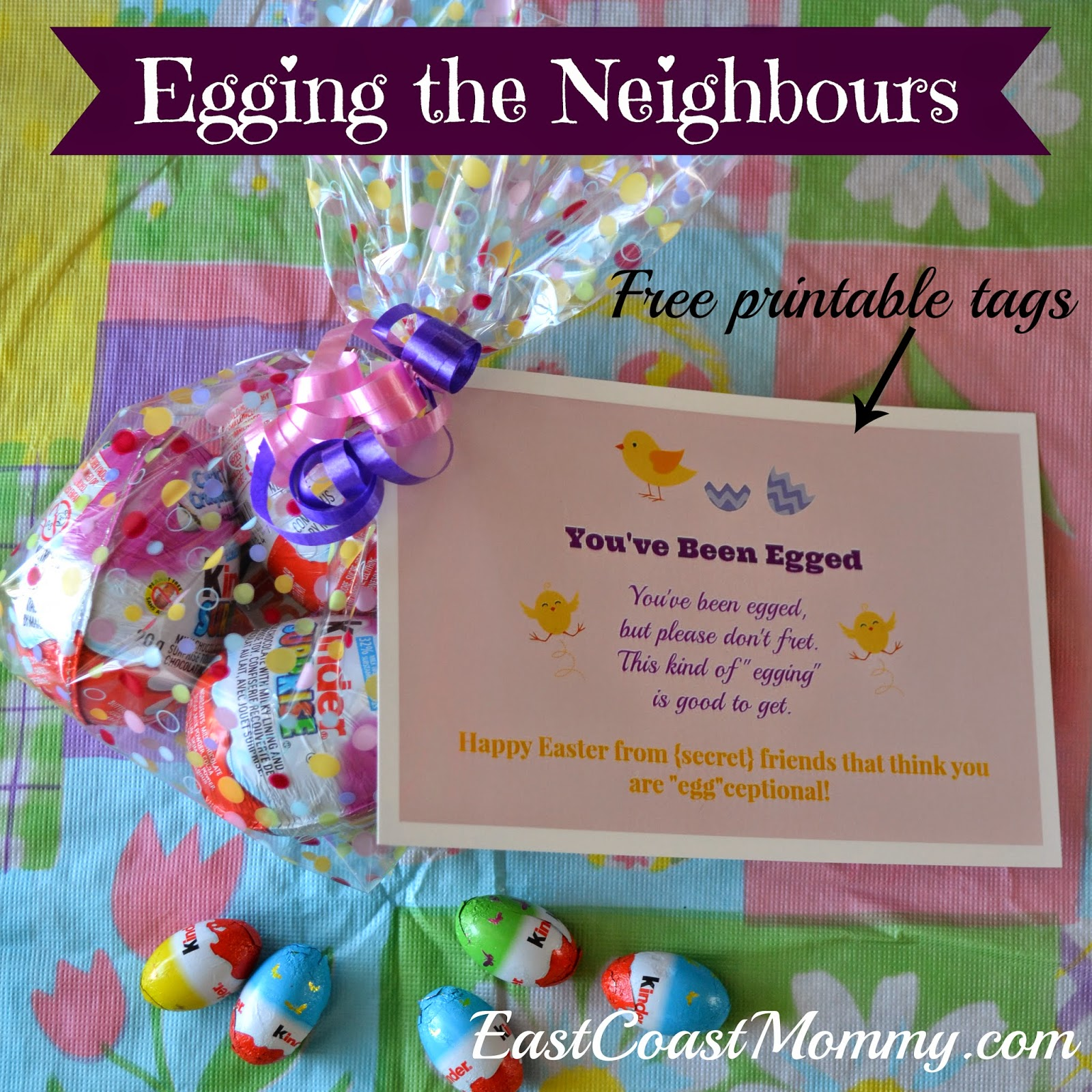Kinderessen Party East Coast Mommy Egging The Neighbours With A Little Help From