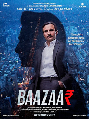 Bazaar Movie first Look Poster Released: Saif Ali Khan In This New Film