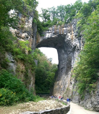 The Natural Bridge in Virginia