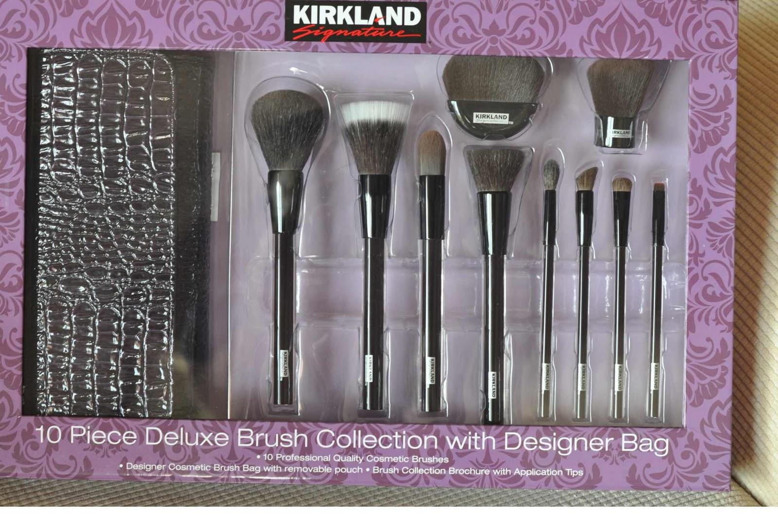 Kirkland Makeup Brush Set Costco | Saubhaya Makeup