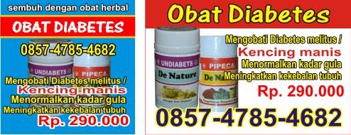 Obat diabet, Obat diabet ampuh, Obat diabet mujarab, Obat kencing manis