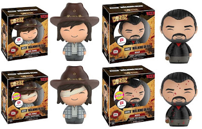 Walgreens Exclusive The Walking Dead Negan & Carl Dorbz Vinyl Figures by Funko