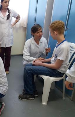 Alunos da APAE de Registro-SP são vacinados contra gripe