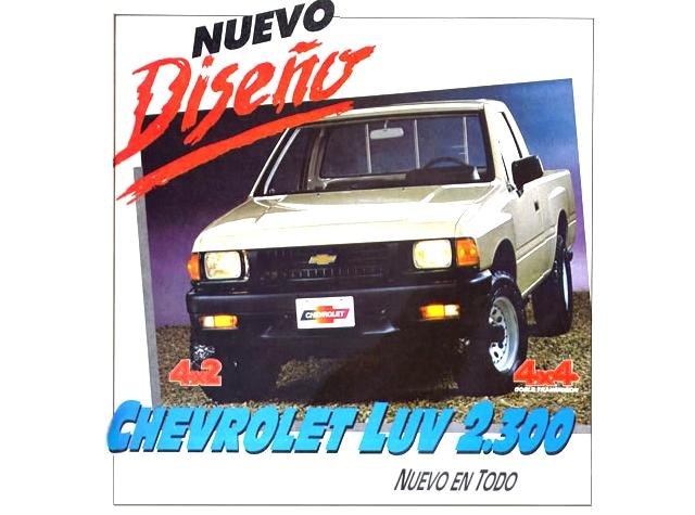 Cruiser Clsicos En Escala 143 143 Classics Chevrolet Luv 1988
