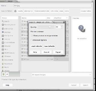 Resize Gambar di GIMP
