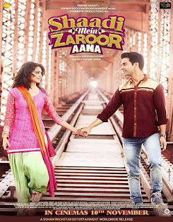 Shaadi Mein Zaroor Aana 2017 Hindi Movie 180Mb hevc HDTVRip
