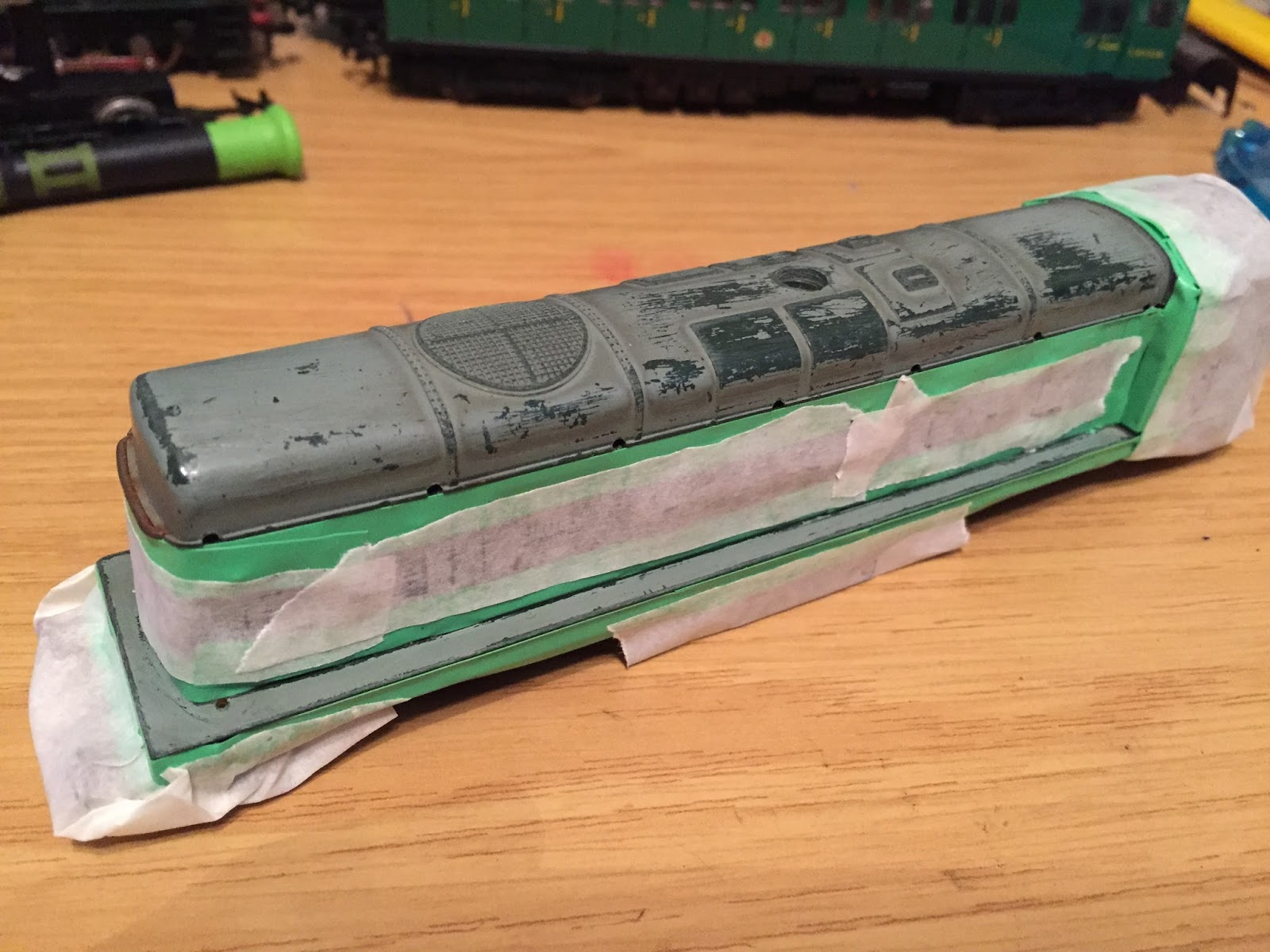 Hornby Dublo 3 Rail July 2015 Relay Switch Halfords Im Using The Same Grey Primer As Used For Emu Coach Roofs And Wagon It Is A Different Shade To Original But Bo Will Most