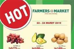 Katalog Promo Farmers Market Weekend Terbaru 22 - 24 Maret 2019