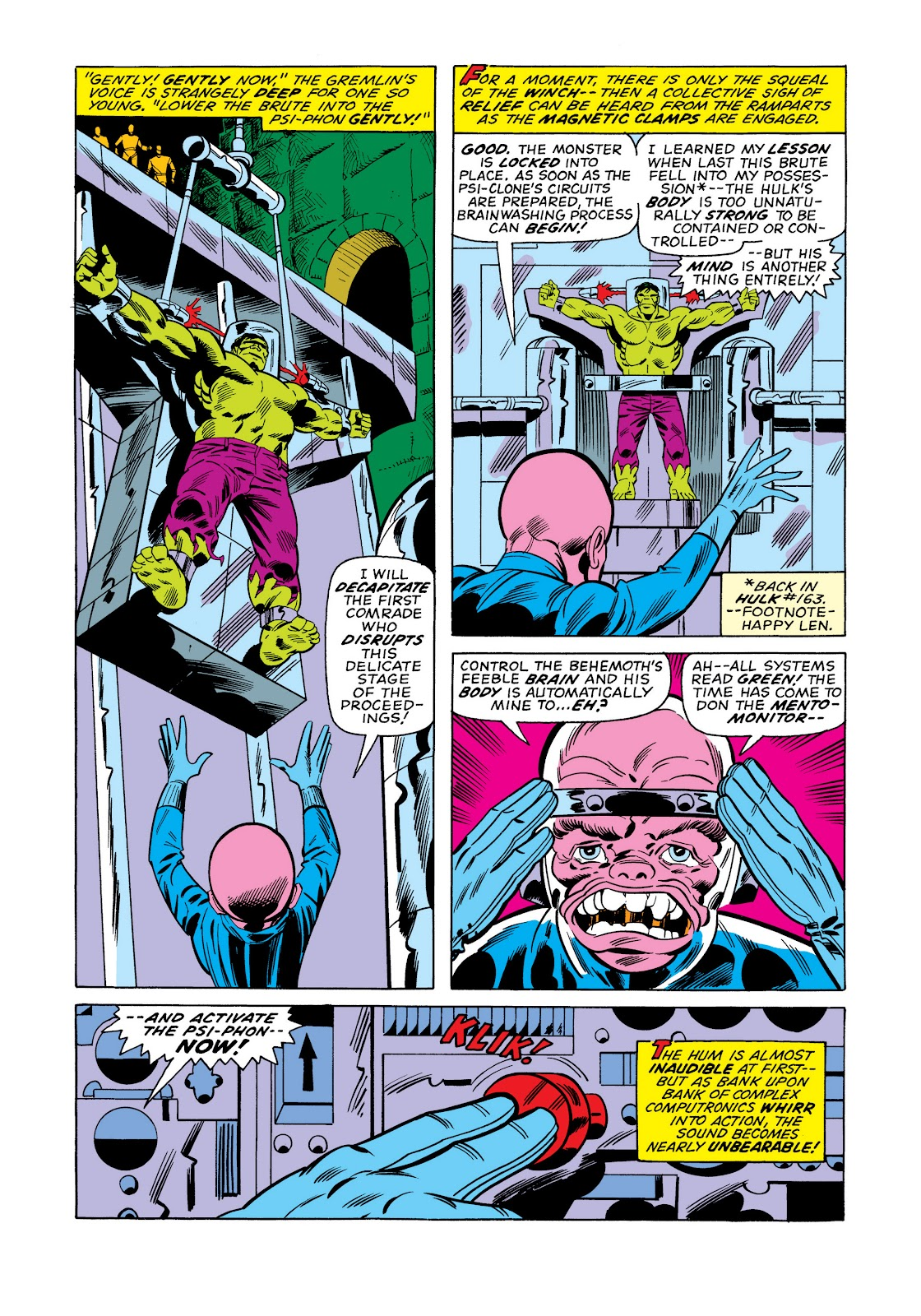 Read online Marvel Masterworks: The Incredible Hulk comic -  Issue # TPB 11 (Part 1) - 86