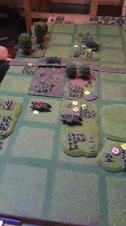 German casualties force a withdrawal