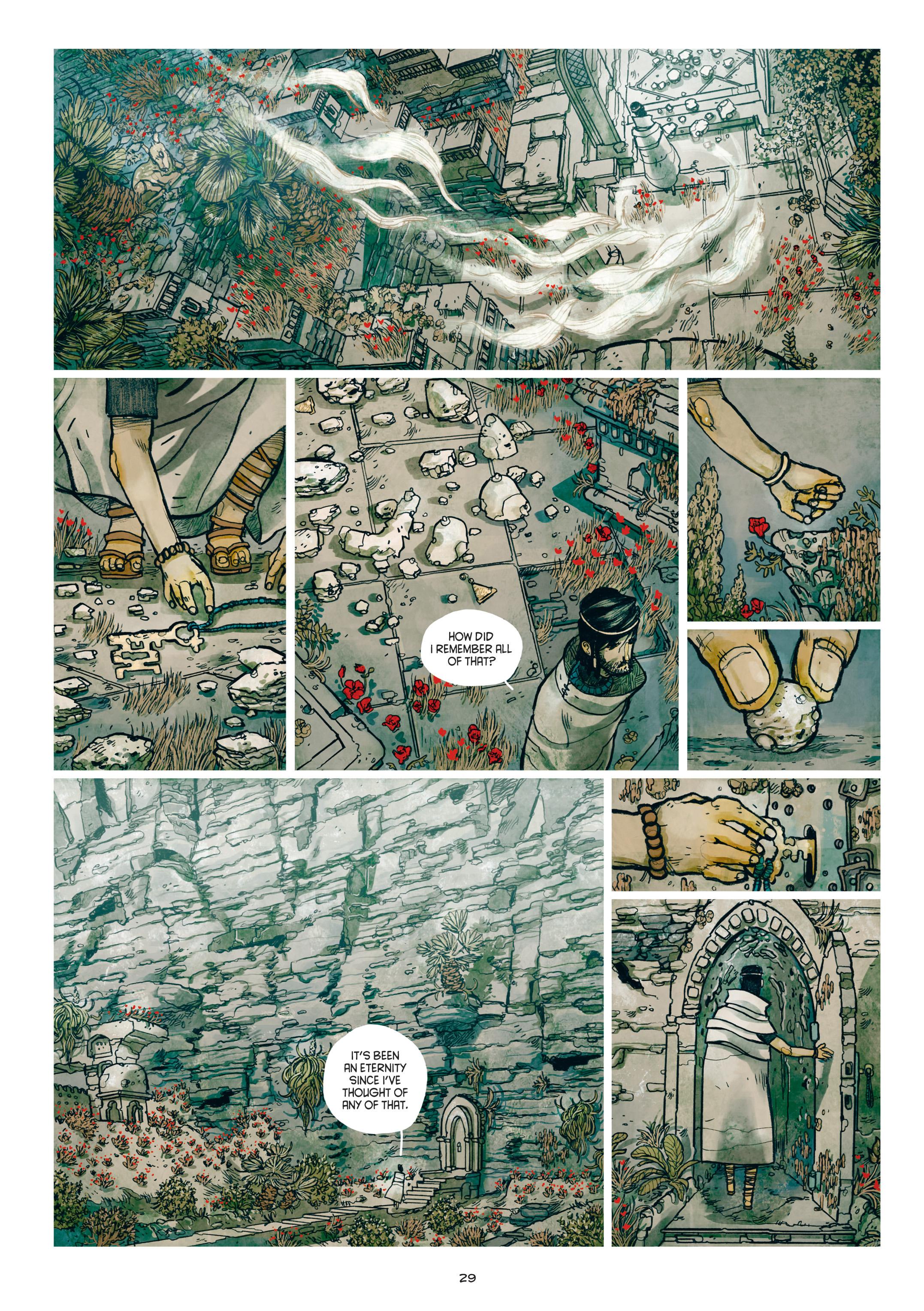 Read online Adrastée comic -  Issue #1 - 30