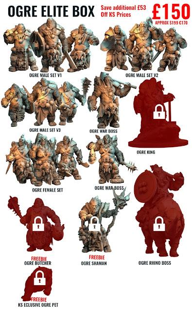Atlantis Miniatures Ogres is Live - Faeit 212: Warhammer 40k
