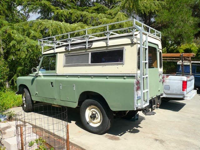 1967 Land Rover Series IIA - 4x4 Cars