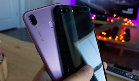 honor play camera images, back view