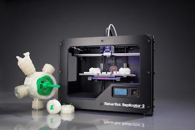 Makerbot Replicator 2 3D Printer Review and Driver Download