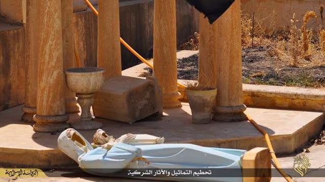 ISIS Hancurkan Biara Kuno Berusia 1500 Tahun dan Tawan Warga Kristen Suriah