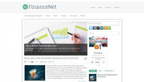 template - template blogspot yang cocok untuk akuntansi