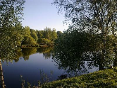 Pyhäjoki, vesi, joki, juhannus