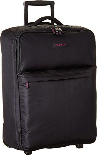 vera bradley large foldable roller suitcase