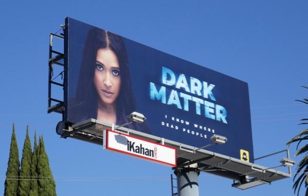 Dark Matter Snapchat billboard