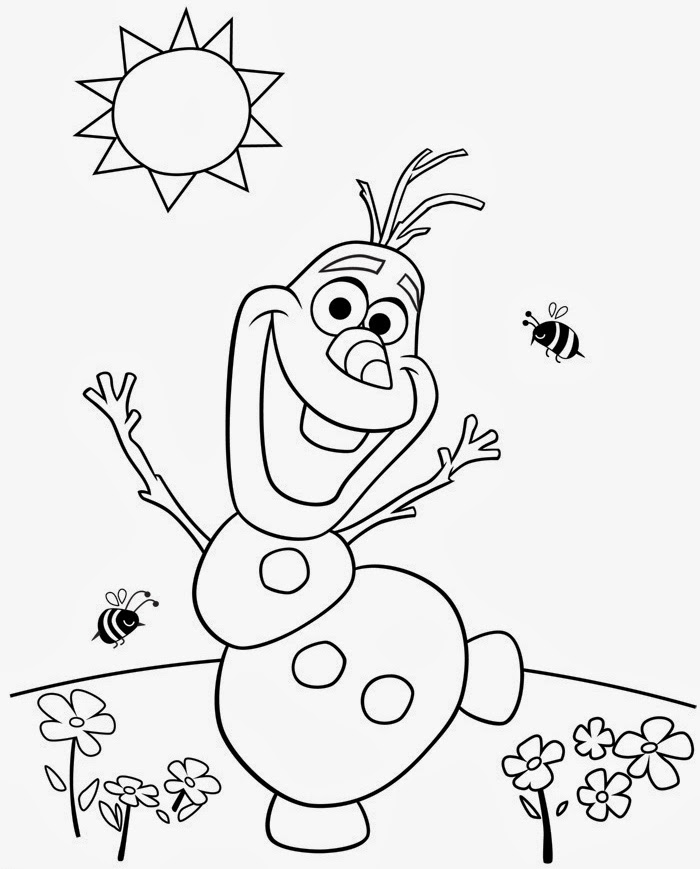 olaf frozen images coloring pages - photo#21