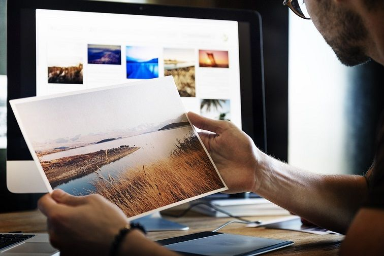 Image editing skill for web designer