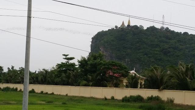 Phnom Sampeau a las afueras de Battambang
