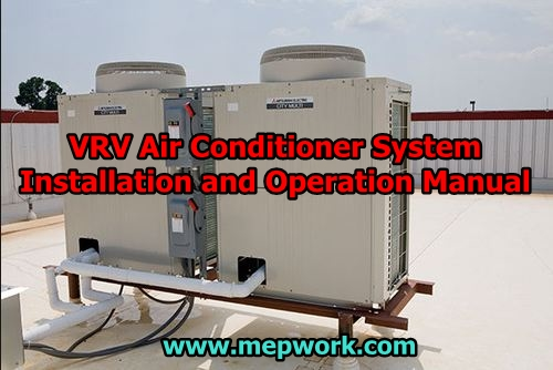VRV Air Conditioner System Installation and Operation Manual