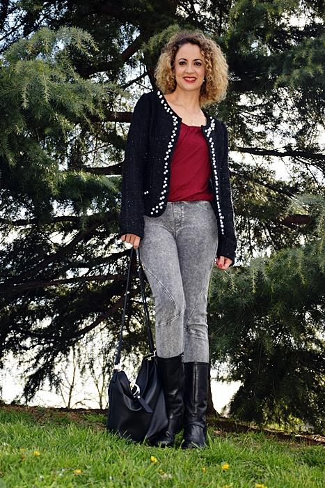 Outfit-Americana-Tweed-con-perlas-2