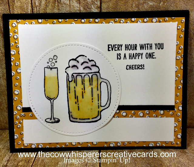 Card, Mixed Drinks, Stitched Shapes Dies, Party