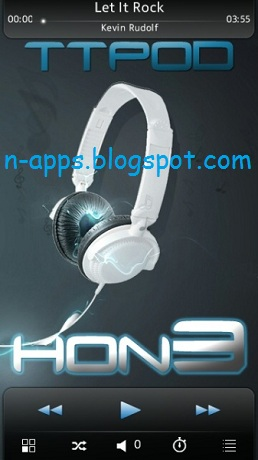 TTPOD H0N3 v4 40 Music Player for Symbian^3 and S60v5 - Free App
