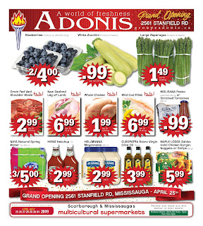Marche Adonis Canada Flyer April 25 - May 1, 2019