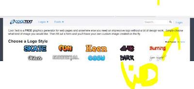 موقع لتصميم اي شعار او زخرفة بأسمك او اسم آخر بدون برامج لاستخدامها كشعار لبروفايل الفيسبوك او شيئ آخر