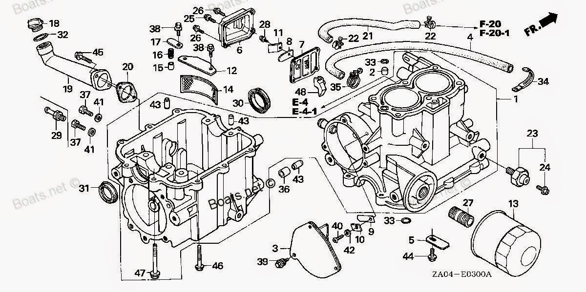 Honda Generator Carburetor Diagram
