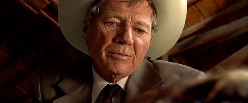 Michael Parks en un fotograma de Kill Bill