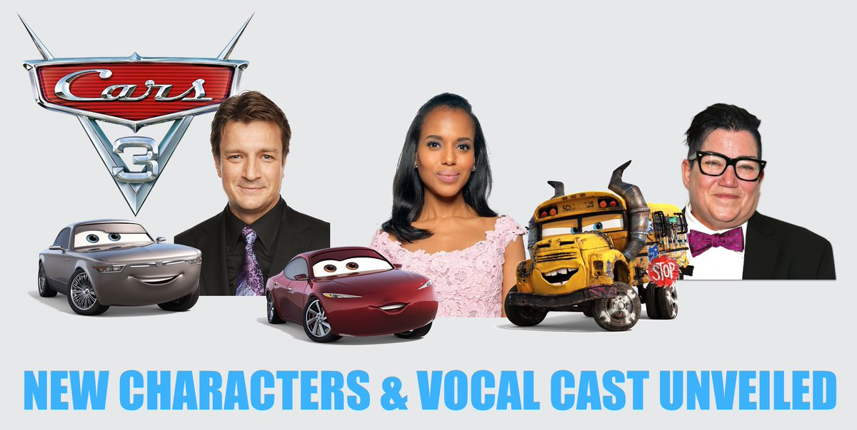 It All Started With A Mouse 3 New Cars 3 Characters Announced