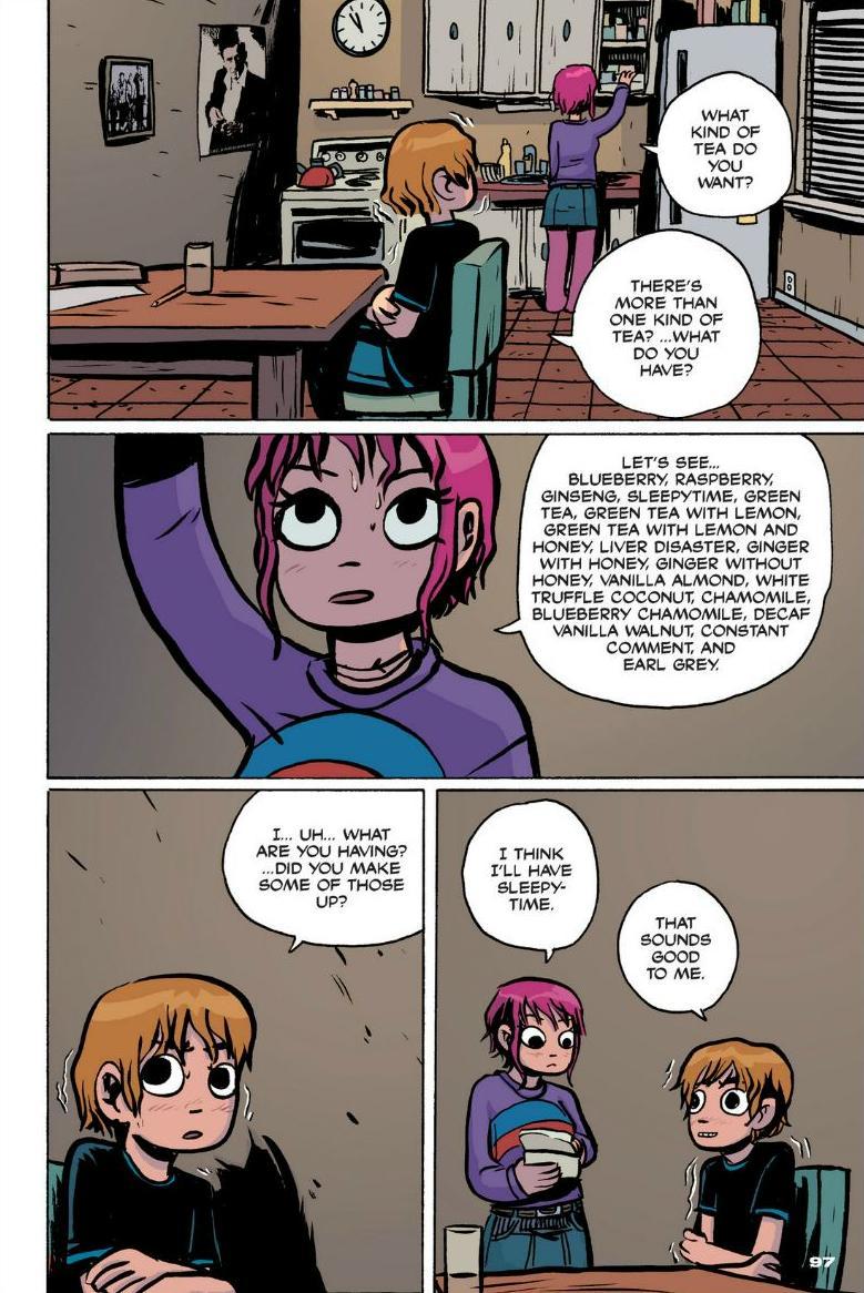 Read online Scott Pilgrim comic -  Issue #1 - 88