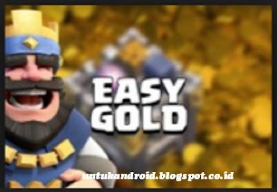 Cara Cepat Mendapatkan Gold Clash Royale