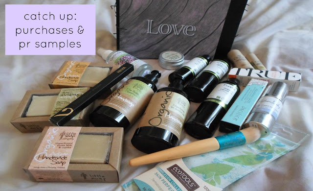Video Natural Organic Skincare Recent Purchases and PR Samples