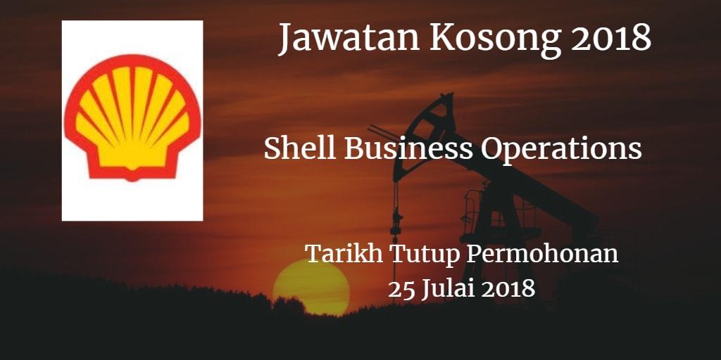 Jawatan Kosong Shell Business Operations 25 Julai 2018