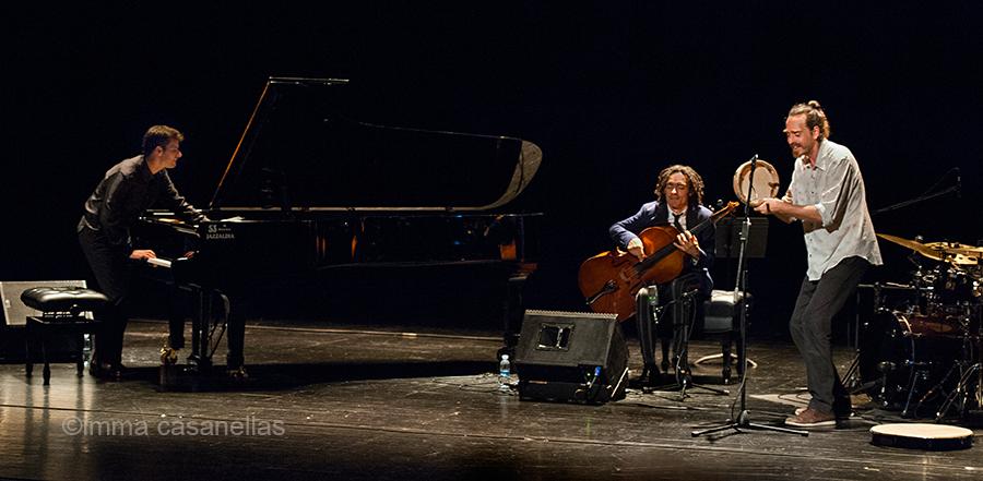Marco Mezquida, Martín Meléndez i Aleix Tobías, Teatro Victoria Eugenia, Donostia, 27-juliol-2018