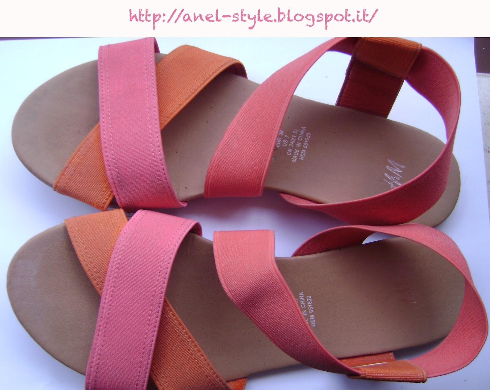 finest selection b98ec 5c112 Anel-Style: Sandali H&M
