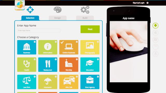 Situs Membuat Aplikasi Android Secara Online
