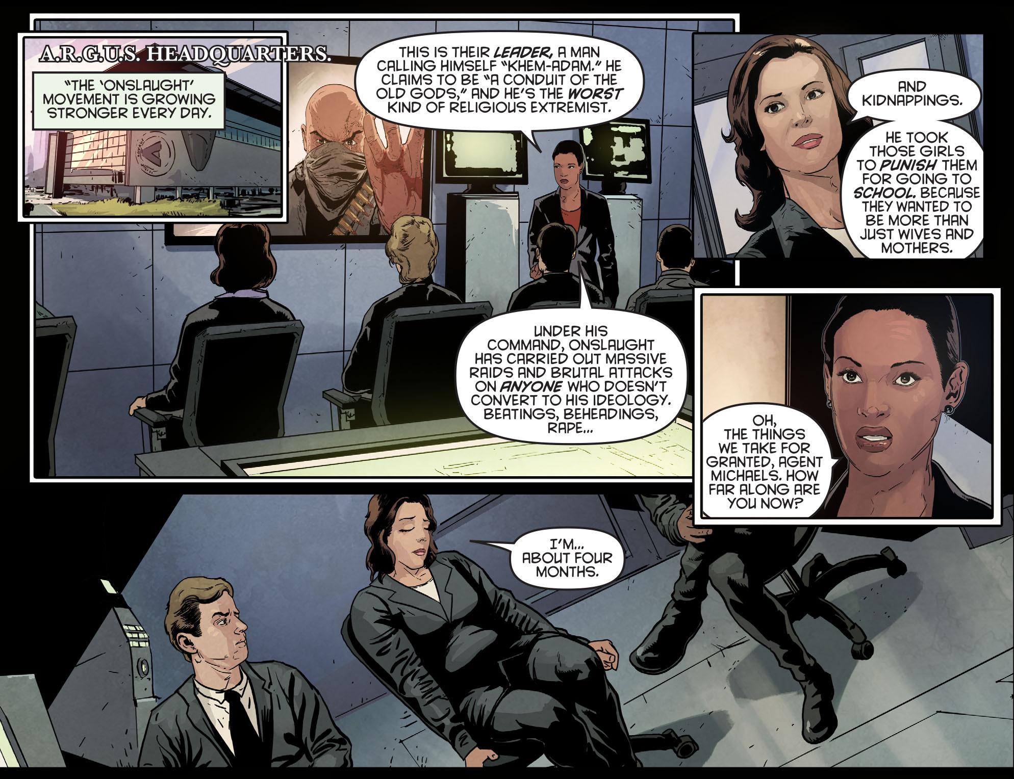 Read online Arrow: Season 2.5 [I] comic -  Issue #6 - 21