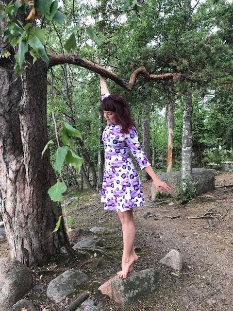 mustikkamaito mekko somaarki